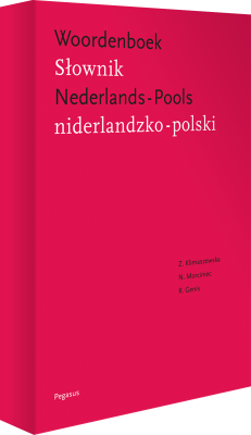 Cover Nederlands - Pools woordenboek