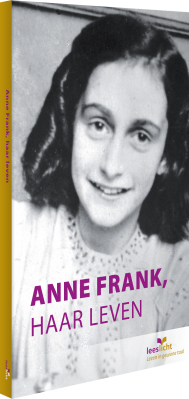 Cover Anne Frank, haar leven
