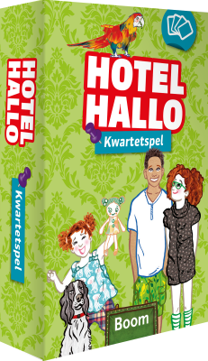 Cover Hotel Hallo - Kwartetspel
