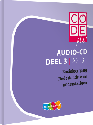 Cover Code Plus Audio-cd's deel 3