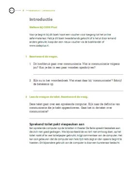 Code plus  Takenboek Deel 4  - Slide 8