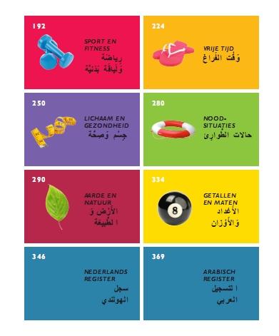 Beeldwoordenboek nederlands arabisch for Arabisch nederlands