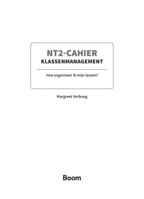 NT2-Cahier Klassenmanagement - Slide 2