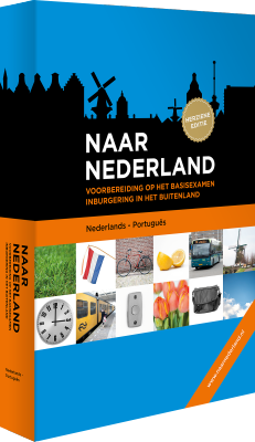 Cover Naar Nederland - Portugees