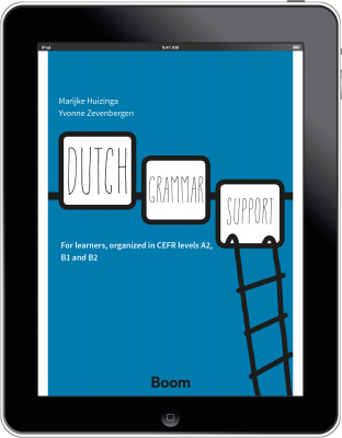 Cover Dutch Grammar Support - e-book