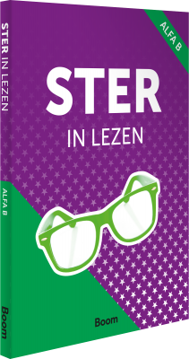 Cover Ster in lezen Alfa B – online only