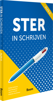 Cover Ster in schrijven alfa A