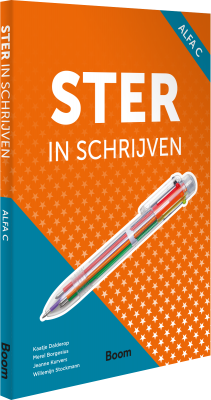 Cover Ster in schrijven Alfa C – online only