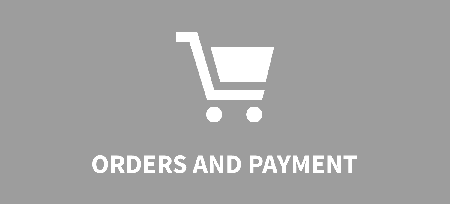 Orders and payment