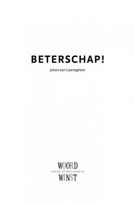 Beterschap - Slide 2